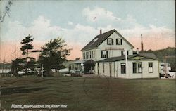 New Meadows Inn, Rear View Postcard