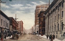 Union St. Looking East Postcard