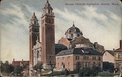 Roman Catholic Cathedral Postcard