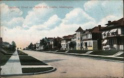 Residence Street on Capitol Hill Postcard