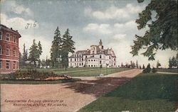 Administration Building University of Washington Postcard
