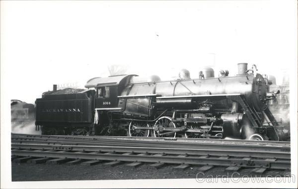 Delaware, Lackawanna & Western Locomotive #1014 Scranton Pennsylvania