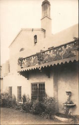 Mission or Mediterranean Style Building or Home Postcard