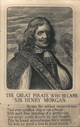 The Great Pirate who became Sir Henry Morgan Postcard