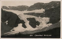 Crowfoot Glacier Postcard