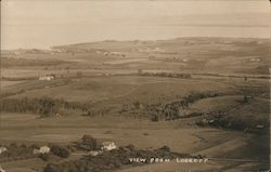 View from lookoff Postcard