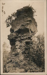 Rock Formation Postcard