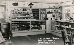 Country Shop at Quimbys Postcard