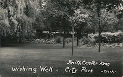 Wishing Well - City Park Postcard