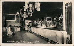 Crystal Bar, 1889 Postcard