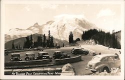 Mt Rainier from Observation Point Postcard