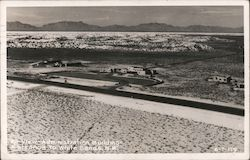 Airview Administration Building Entrance to White Sands, N.M. Postcard