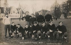 Rare: Dean Academy Football Team 1907 Postcard