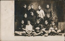1906 Football Team Postcard