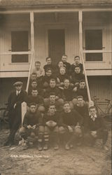 Concord High School Football Team 1913 Postcard