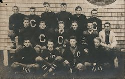 Cushing Academy First Football Team 1907 Postcard