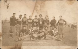 Chemawa Football Team Native Americans Postcard