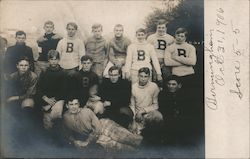 Birmingham Football Team Postcard