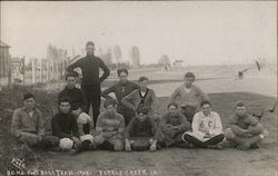 B.C. High School Football Team - 1908 Postcard