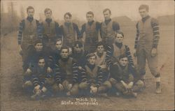 WHS High School State Champions 1905