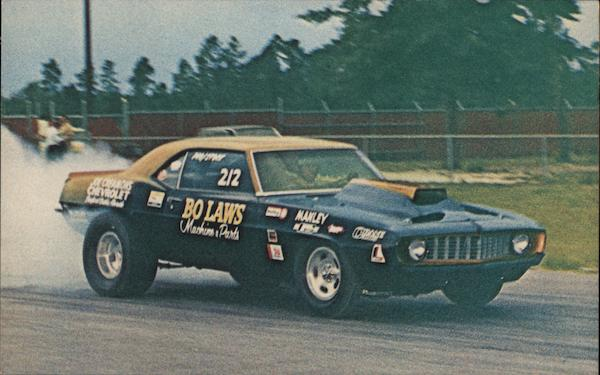 Bo Laws - 1969 Camaro Pro Stock Orlando Florida Johnson Photo