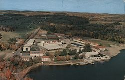 Laurels Hotel and Country Club - Air View Postcard