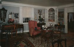 "The parlor in ""Home Sweet Home"" Postcard"