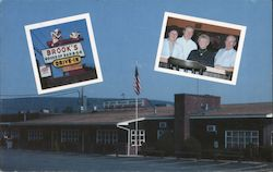 Brooks' House of Bar-B-Q's Postcard