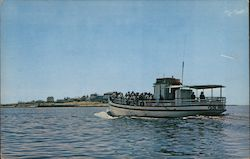 "Excursion Boat ""Viking"" Approaches Star Island, Isles of Shoals"