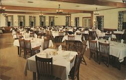 Main Dining Room, Cascade Lodge and Cabins Postcard