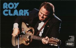 Roy Clark, Celebrity Room Theatre Restaurant - The Nugget Postcard