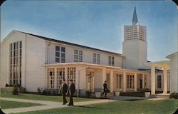 Chapel, Dover Air Force Base Postcard