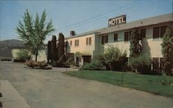 Coulee Dam Motel Postcard