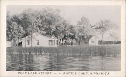 Deer Lake Resort Postcard