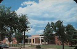 Restall Hall, The Student Union Building at Colorado College Postcard