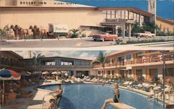 Desert Inn Resort Motel Postcard