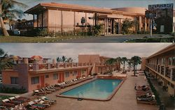 Sun Ranch Resort Motel at the Water Wheel Postcard