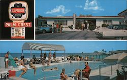Palm Crest Motel-Apts Postcard