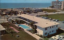 El Morocco Resort Motel Postcard