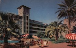 Patio Suites at Hotel Westward Ho Postcard