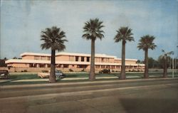 Phoenix Public Library, Central and McDowell Postcard