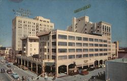 Hotel Adams and National Bank Building Postcard
