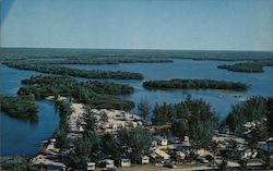 San Carlos Trailer Park and Islands Postcard