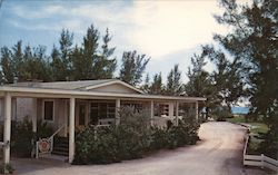 The Nutmeg House overlooking the Gulf of Mexico Postcard