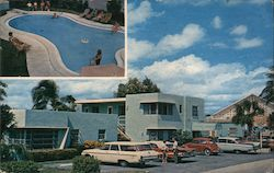 Spindrift Apartment Motel Postcard
