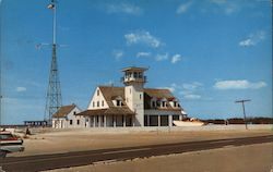 Outer Banks Coast Guard Station Postcard