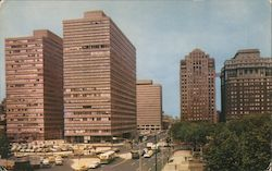 New Penn Center Plaza Postcard