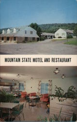 Mountain State Motel and Restaurant Postcard