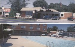 Golden Crest Motor Inn Postcard