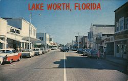 Lake Worth, Florida Postcard